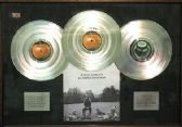x   GEORGE HARRISON - Platinum Disc - ALL THINGS MUST PASS